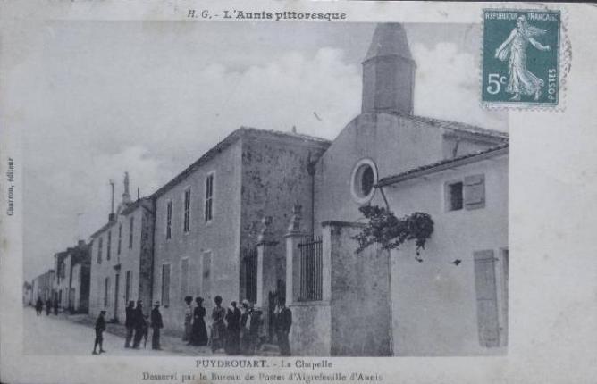 12 LA CHAPELLE PUYDROUARD 1910
