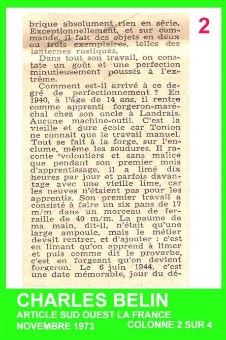 2 BELIN ARTICLE DETAIL COLONNE 2 SUR 4