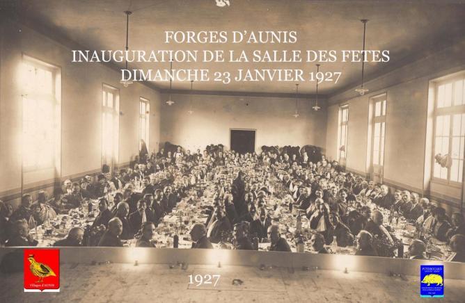 7 Salle des fêtes de Forges Inauguration 23 Janvier 1927