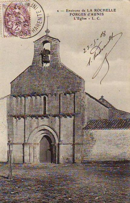 Eglise Forges 1908