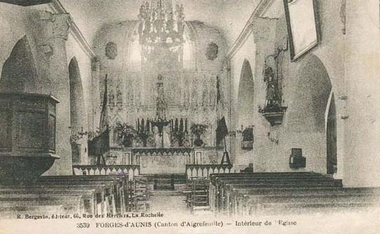 Eglise Forges 1913