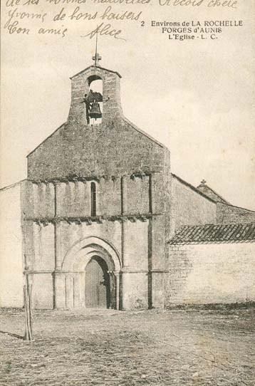 Eglise Forges 1918