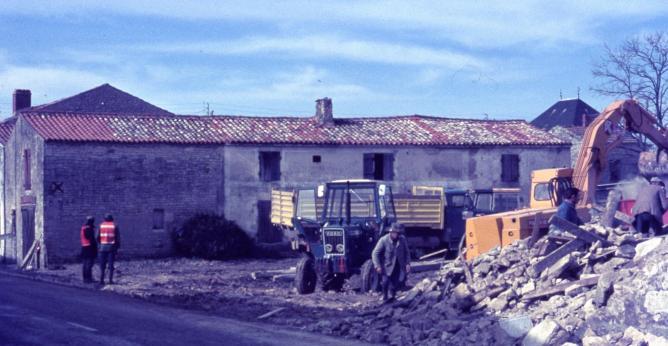 08 demolition puydrouard 1977