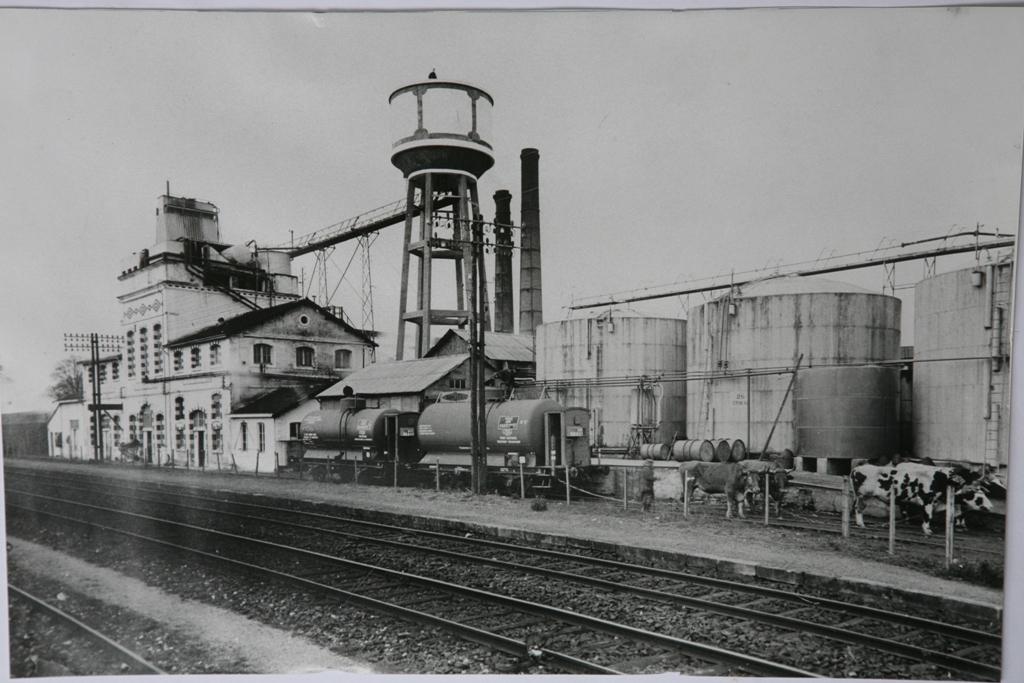 1 le magnou 2 cheminees boeufs avant explosion 1934
