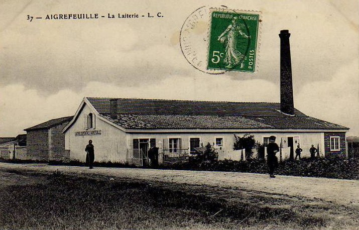1920 laiterie aigrefeuille