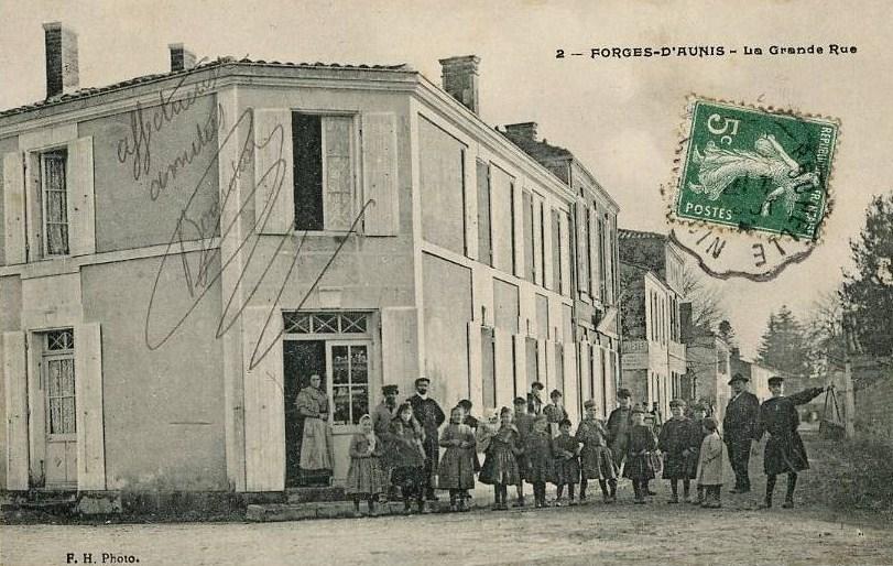 2 forges la grande rue 1918