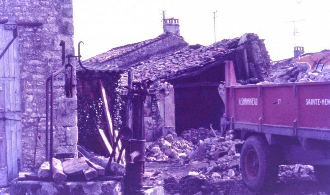 21 demolition puydrouard 1977