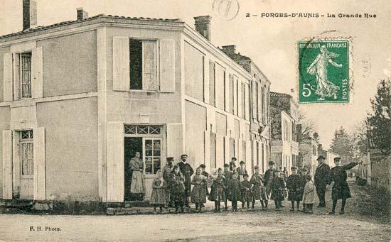5 forges la grande rue 1920