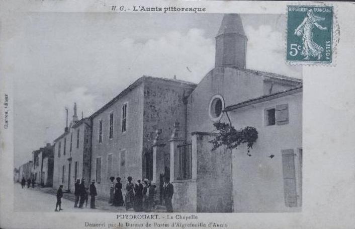 7 la chapelle puydrouard 1911