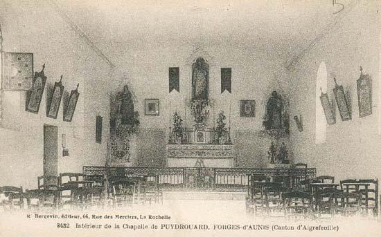 8 la chapelle puydrouard 1911