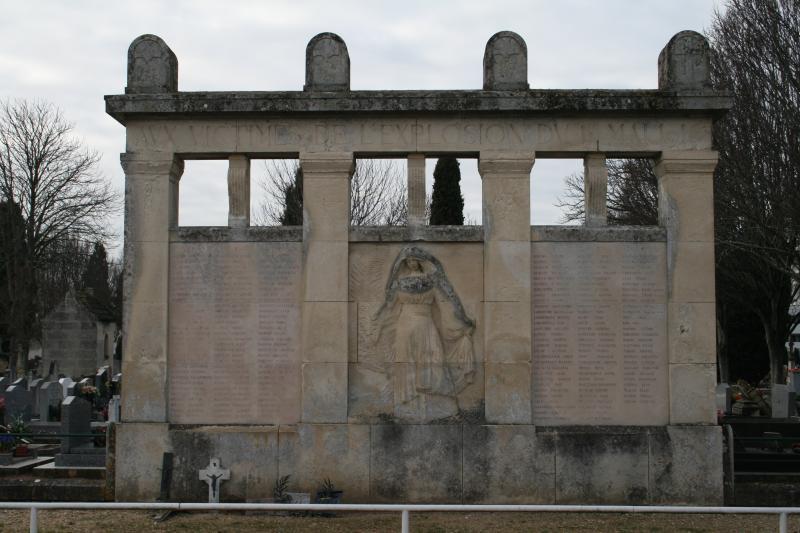 Aux victimes de l explosion du 1er mai 1916