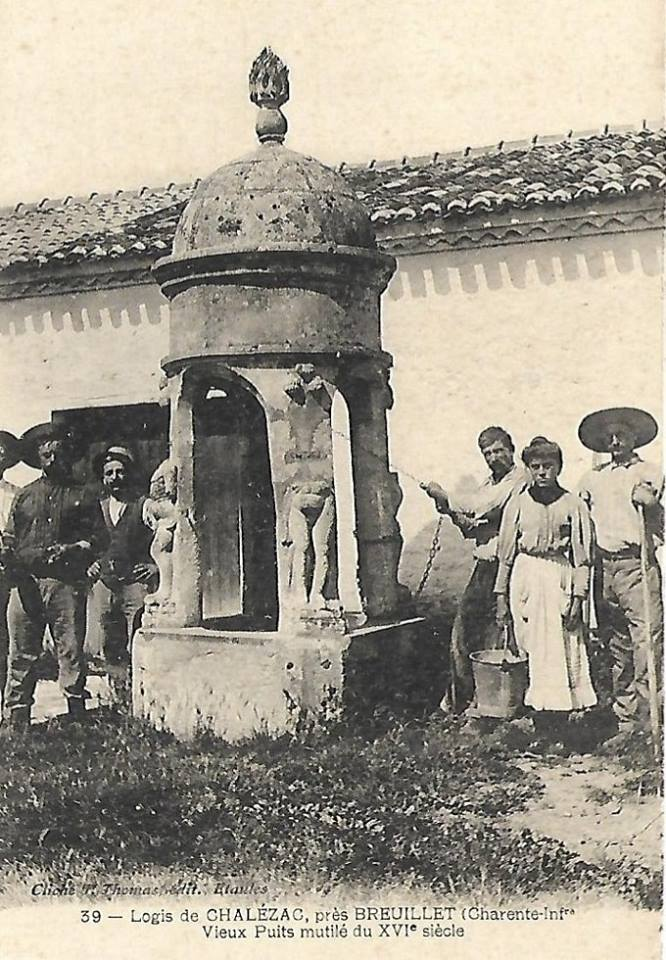 Breuillet ancien puits chalezac