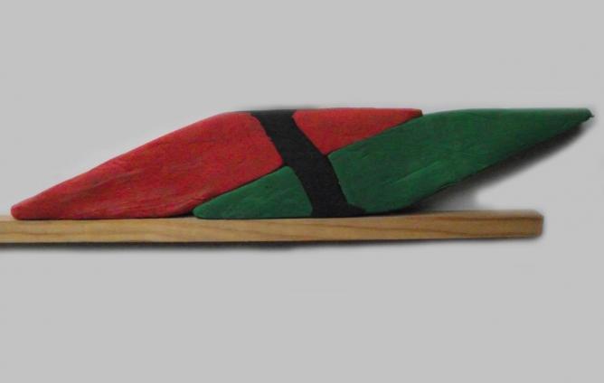 Fig 18 fers a rhabiller en pate a modeler partiellement forge