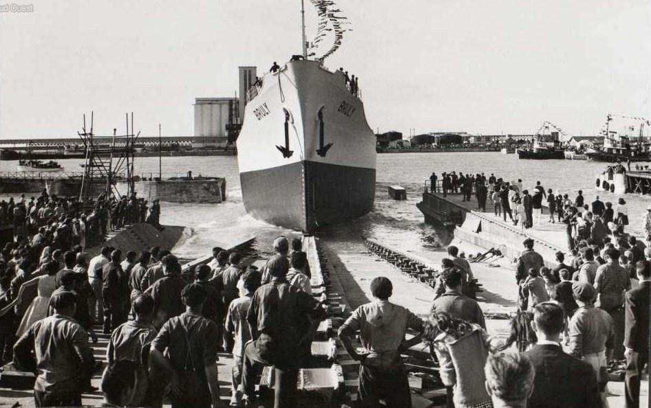 Histoire construction navale debute delmas 1922