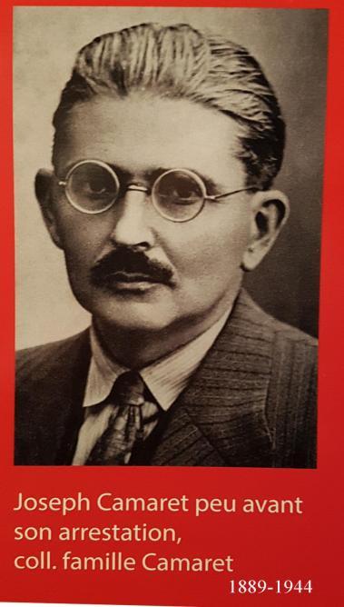 Joseph camaret 1889 1944