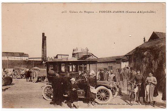 Le magnou forges aunis voiture1915