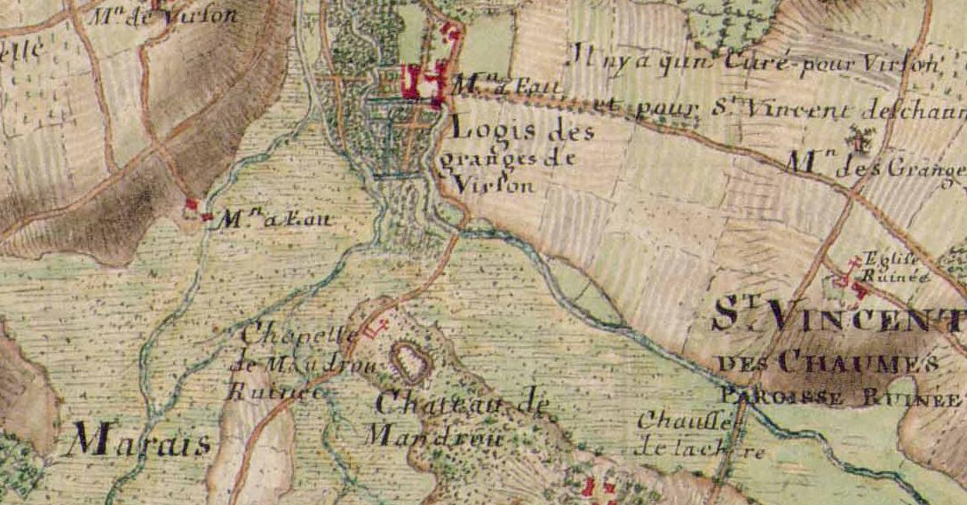Les granges et mandroux 1720