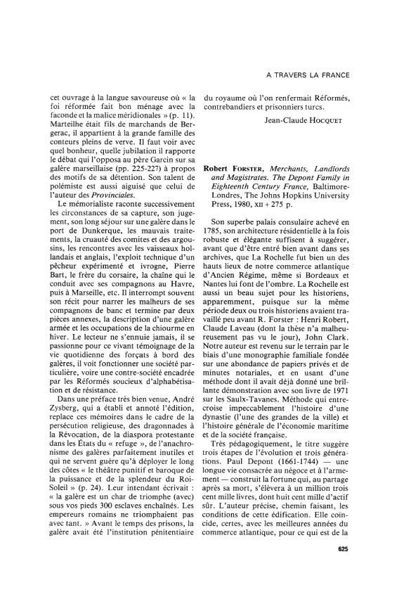 Livre depont robert forster bergeron 625 1