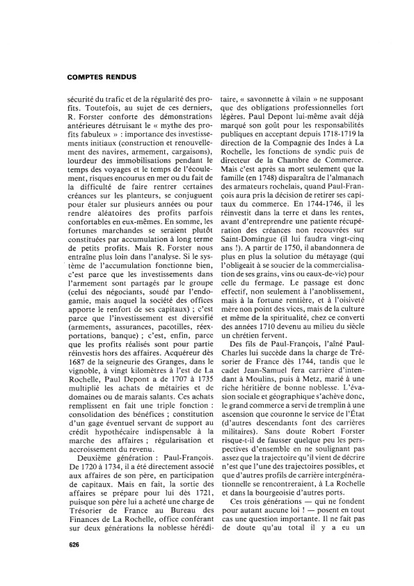 Livre depont robert forster bergeron 626 2