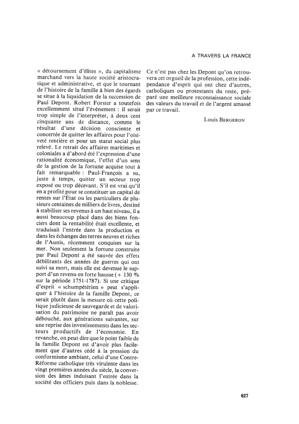 Livre depont robert forster bergeron 627 3