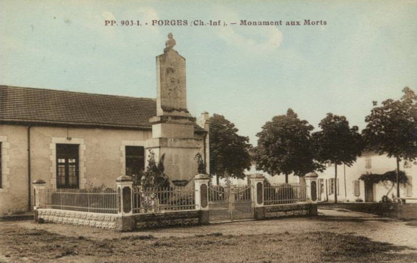 Monument aux morts forges
