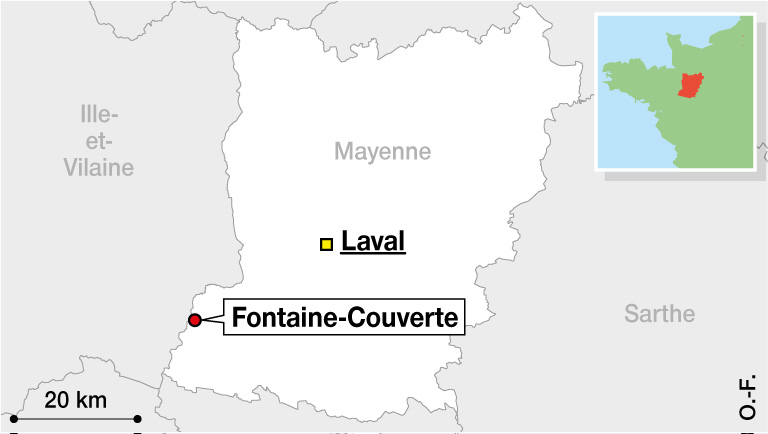 Moulin carte mayenne