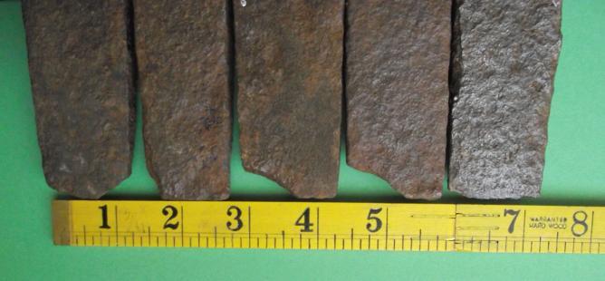 Tranchants de fers a rhabiller ebreches sur les angles